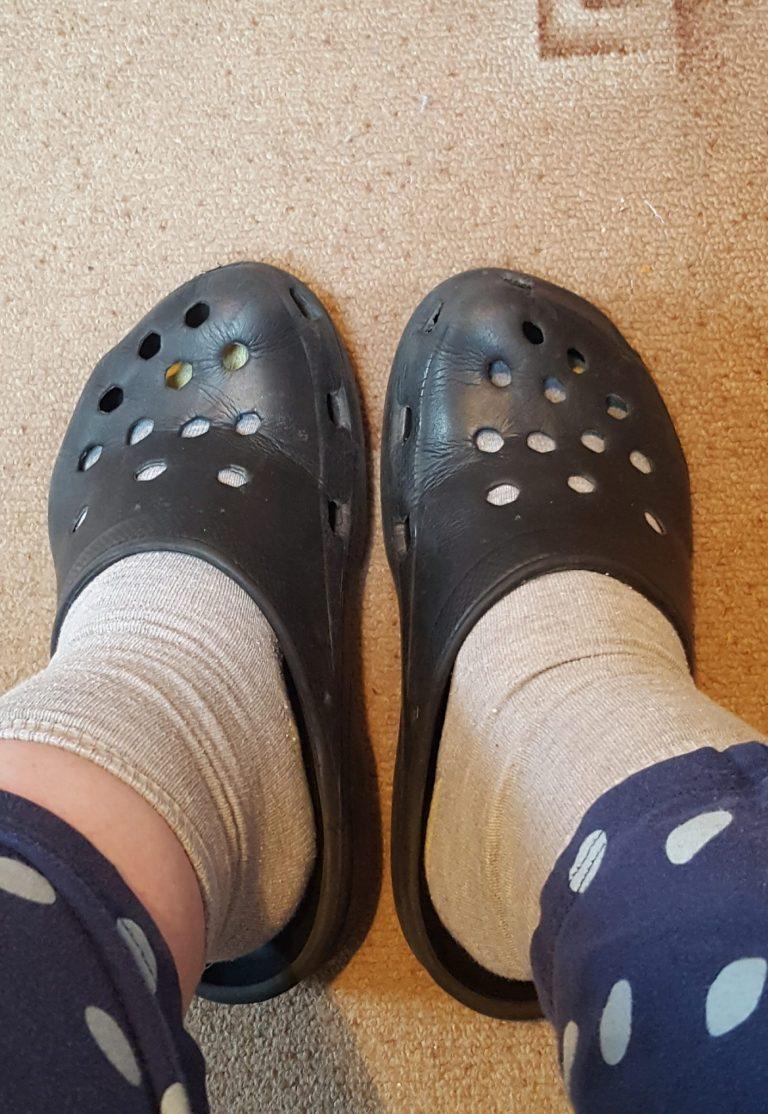 Living Creatively with Fibro   my everyday crocs