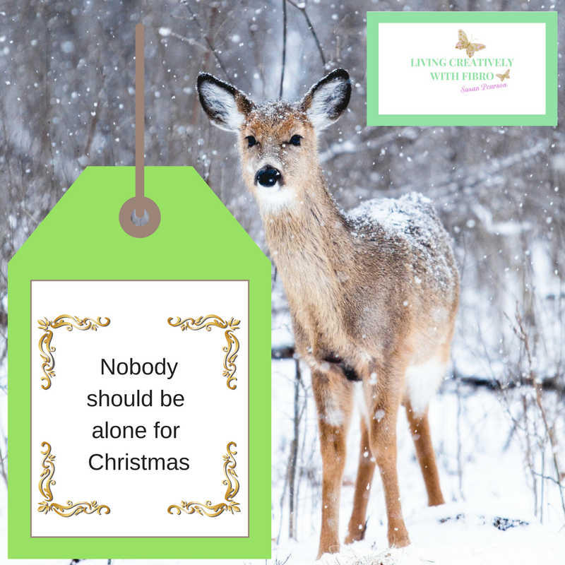 Nobody should be alone for Christmas