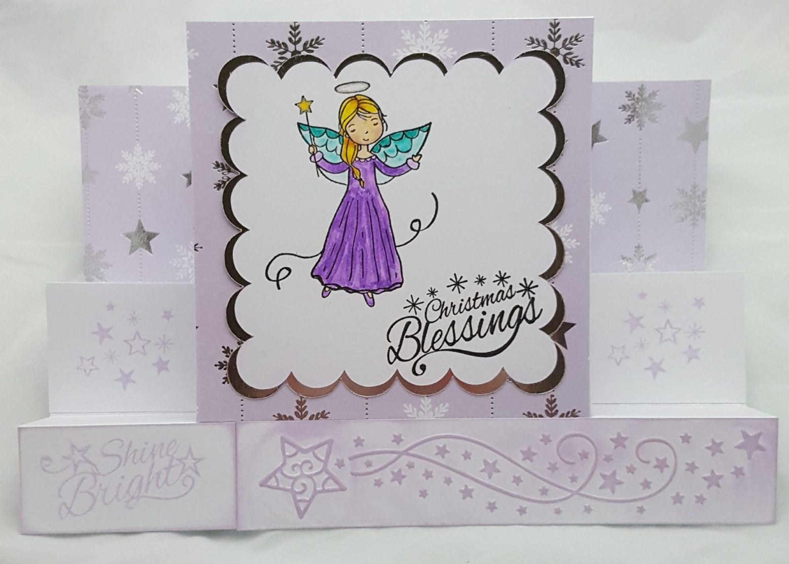 Peace and Joy Completed Card