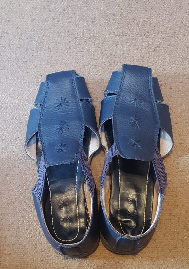 Living Creatively with Fibro   Sandal Shoes