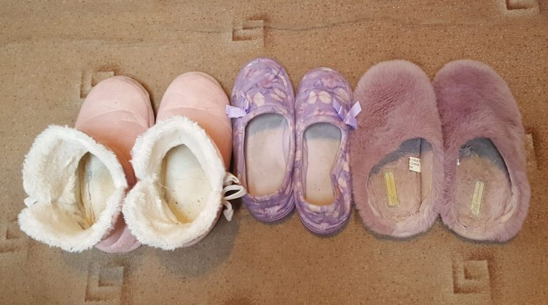 Living Creatively with Fibro   The slipper collection