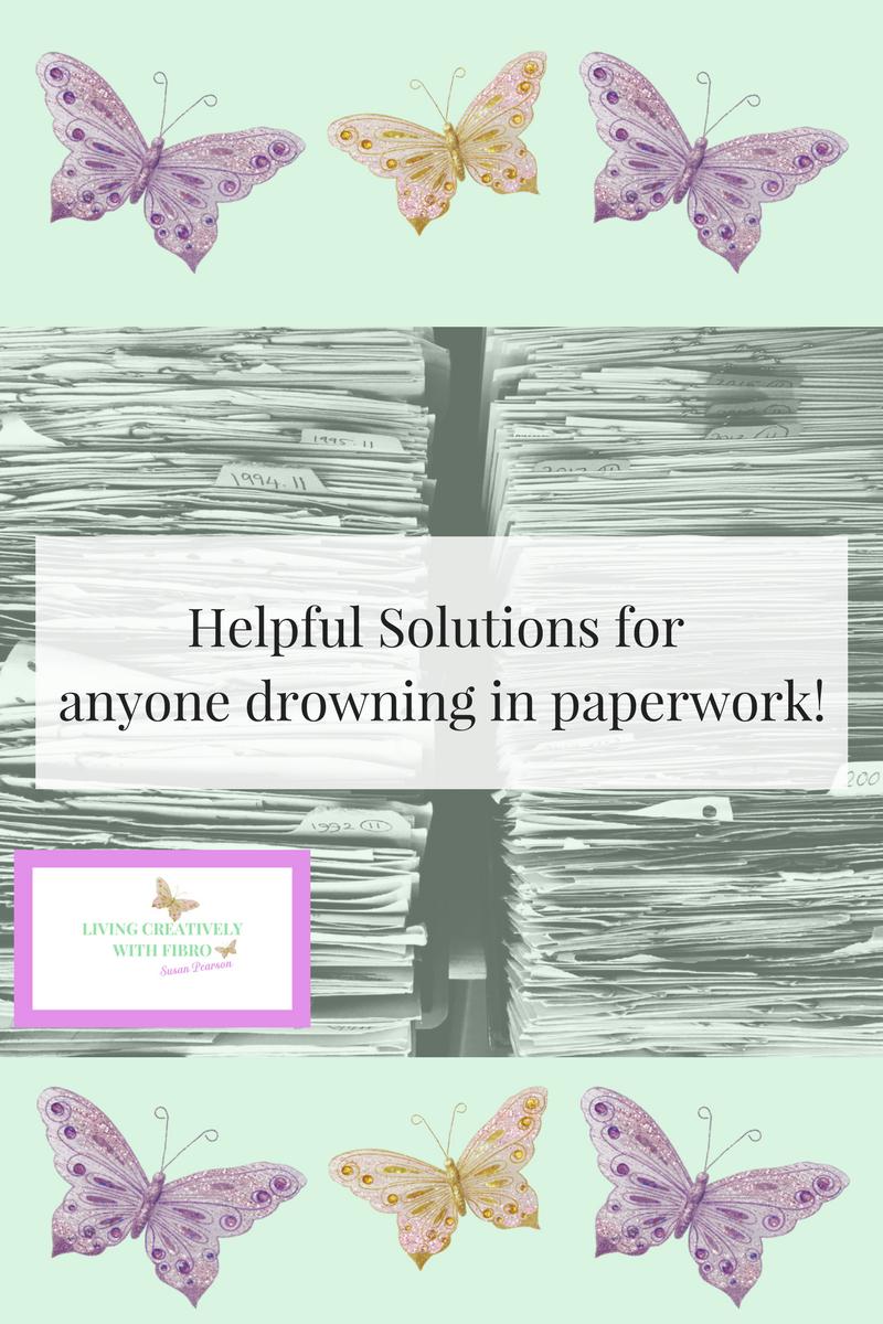 Blog Drowning in paperwork
