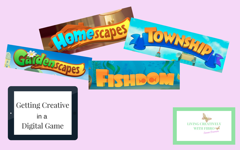 Living Creatively with Fibro | Getting Creative in a Digital Game