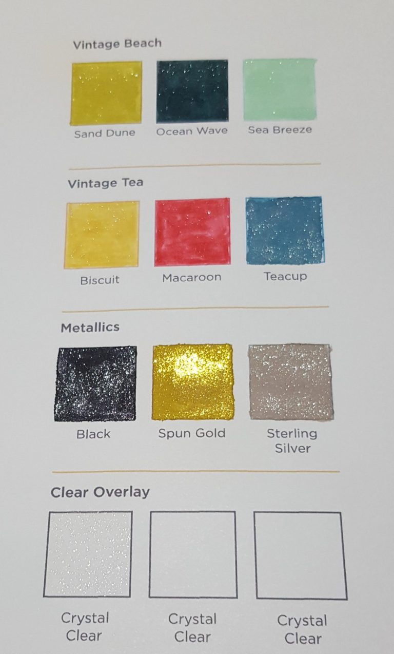 Living Creatively with Fibro | Spectrum Sparkle Metallics