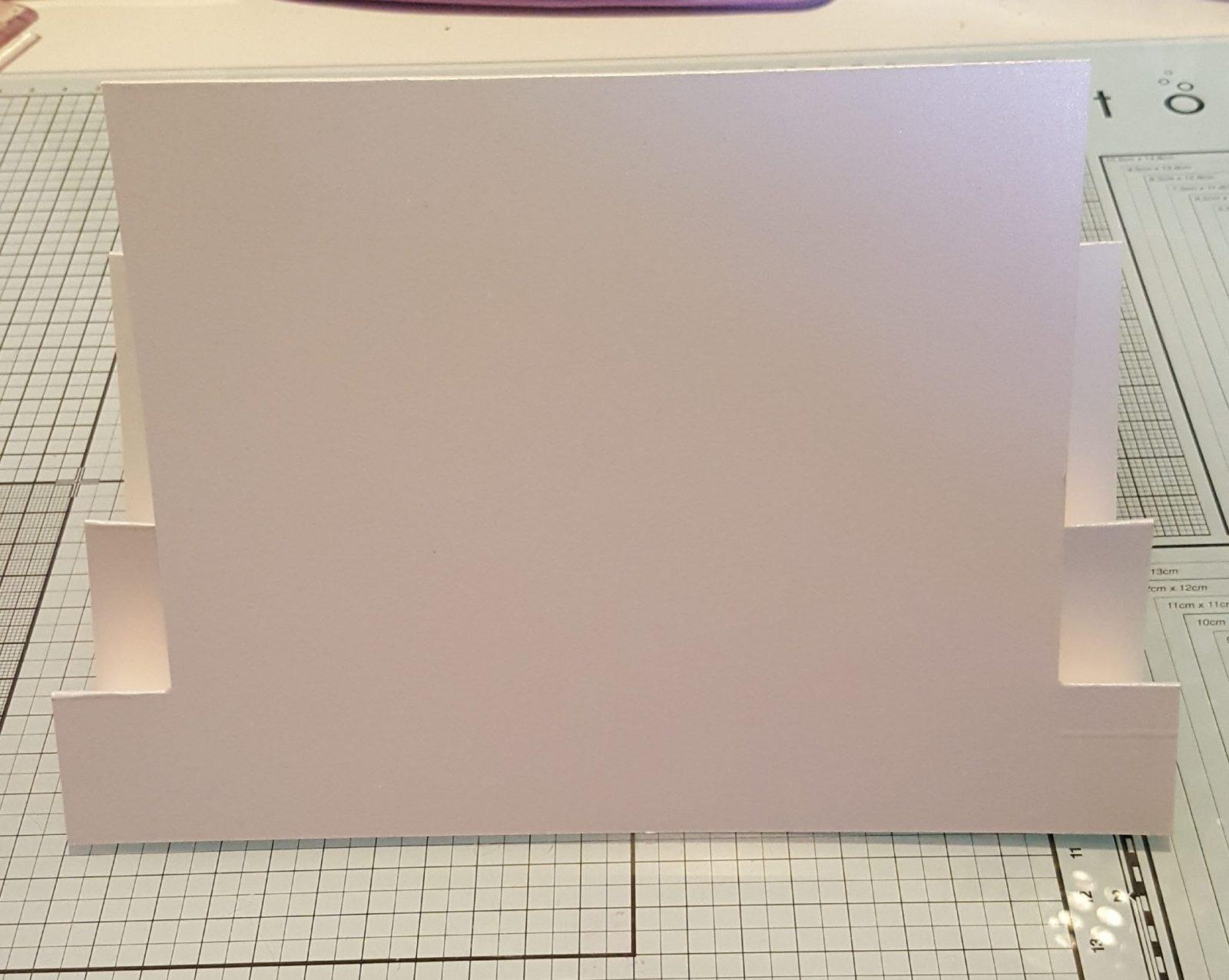 Wedding Anniversary Card basic card Fold