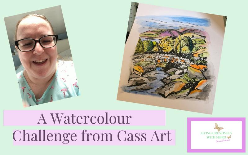 Watercolour Challenge from Cass Art