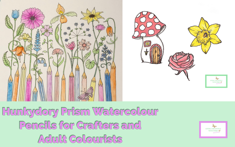Hunkydory Prism Watercolour Pencils