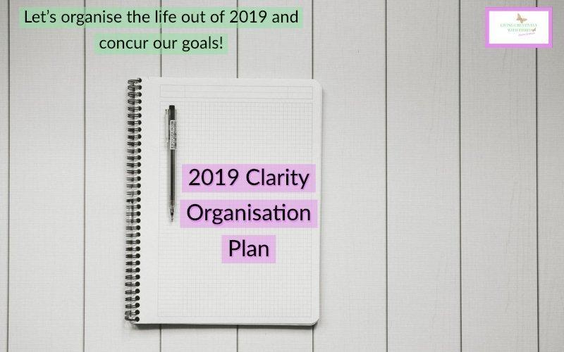 2019 Clarity Organisation Plan