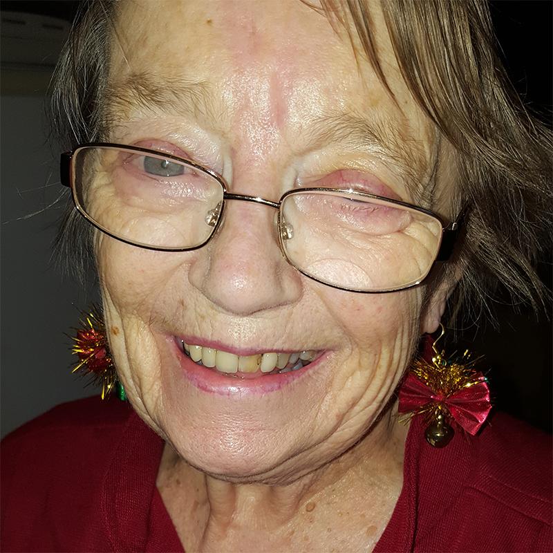 An image of my Mum, Joan Penter