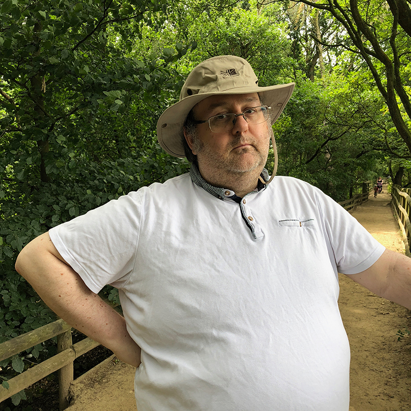 A photo of my husband Michael