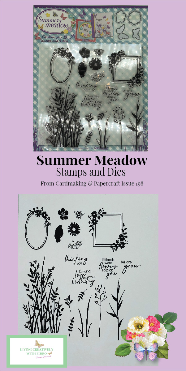 Summer Meadow Stamps and Dies pinterest