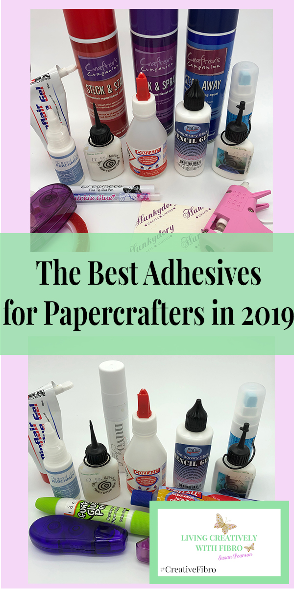The Best Adhesive for Papercrafters in 2019, Pinterest Image