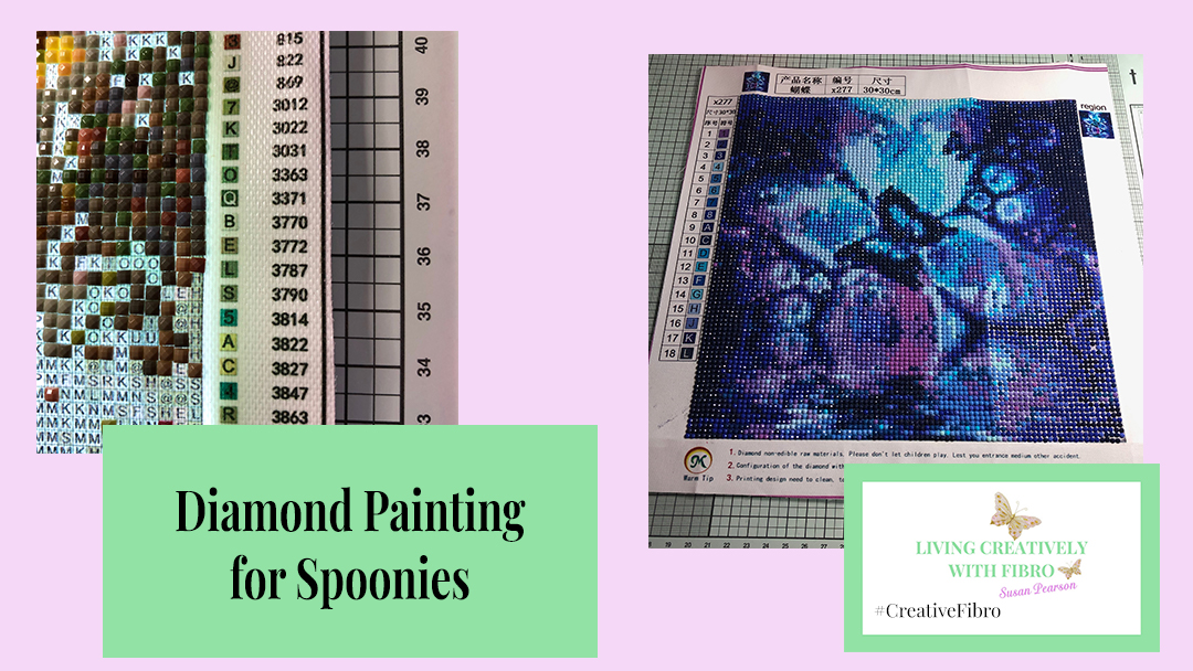 Diamond Painting for Spoonies