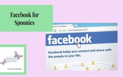 Facebook for Spoonies
