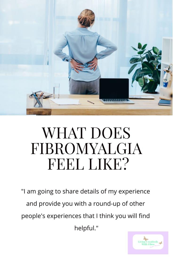 Pinterest sized image of What does Fibromyalgia feel like header image
