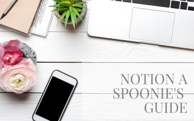 Notion a Spoonie's Guide