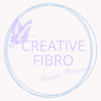 Creative Fibro logo in the Winter 2021 colour scheme