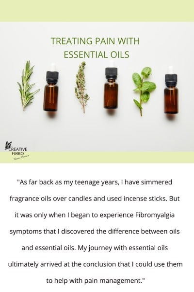 Essential Oil Blog Pinterest sized Graphic